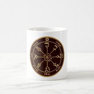 Viertes Pentagramm des Sun Kaffeetasse