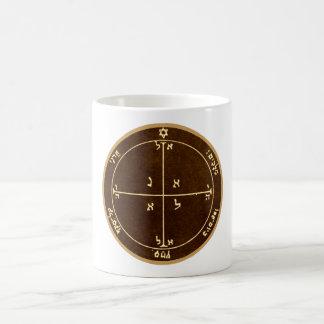 Viertes Pentagramm von Mars Kaffeetasse