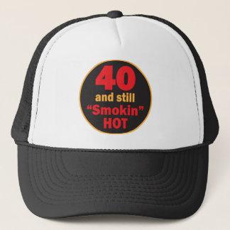 Vierzig und noch Smokin heißer | 40. Geburtstag Truckerkappe