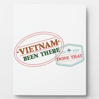 Vietnam dort getan dem fotoplatte