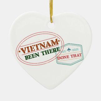 Vietnam dort getan dem keramik ornament