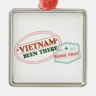 Vietnam dort getan dem silbernes ornament