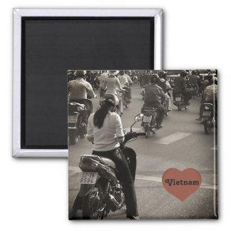 Vietnam-Fahrräder Quadratischer Magnet