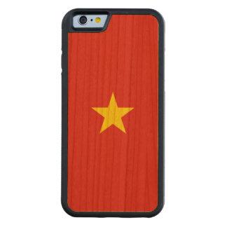Vietnam-Flagge Bumper iPhone 6 Hülle Kirsche