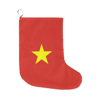 Vietnam-Flagge Großer Weihnachtsstrumpf