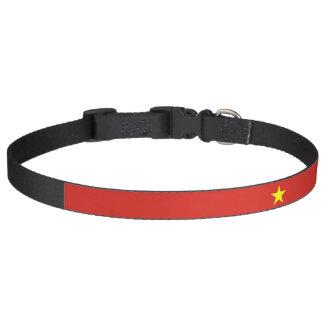 Vietnam-Flagge Haustierhalsband