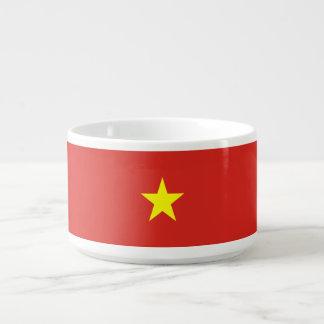 Vietnam-Flagge Schüssel