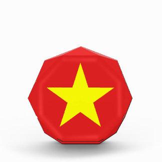 Vietnam-Flaggen-Gelb-Stern-Preis Auszeichnung