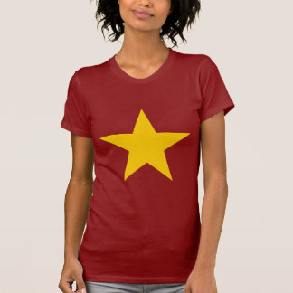 Vietnam-Flaggen-Stern T-Shirt