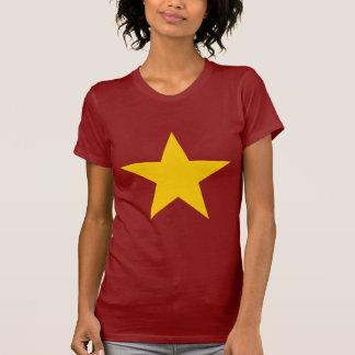 Vietnam-Flaggen-Stern T-Shirts