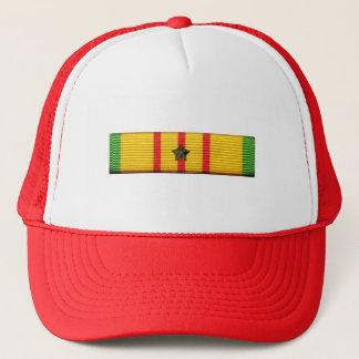 Vietnam-Service-Band - Masche-Zurück Hut mit einem Truckerkappe