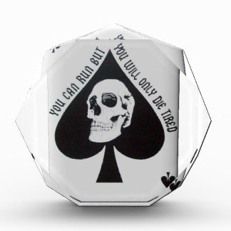 Vietnam-Todeskarte Acryl Auszeichnung