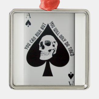 Vietnam-Todeskarte Silbernes Ornament