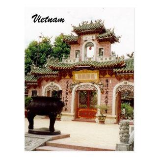 Vietnam-Tor Postkarte