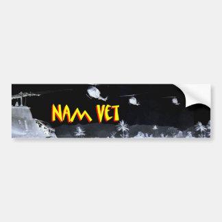Vietnam-Veteran - Nam Tierarzt 1 Autoaufkleber