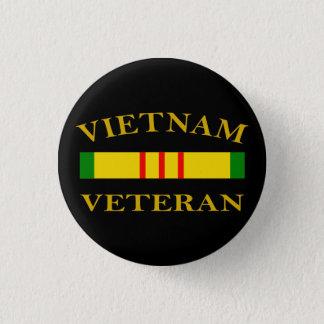 Vietnam-Veteran Runder Button 2,5 Cm