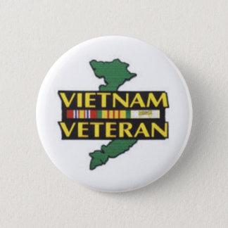Vietnam-Veteran Runder Button 5,1 Cm