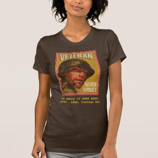 Vietnam-Veteran - zum Gedenken an… - kundengerecht T-Shirt