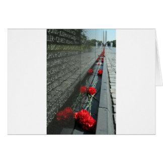 Vietnam-Veterane Denkmal-Wand Karte