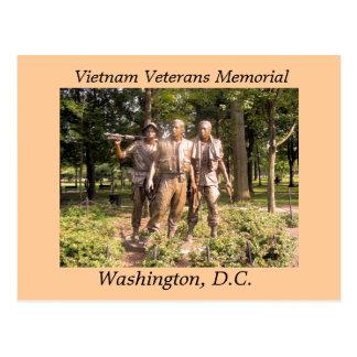 Vietnam-Veterane Erinnerungs Postkarte