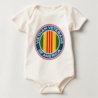 Vietnam-Veterane von Amerika-Logo Baby Strampler