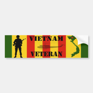 Vietnam-Veteranen-Autoaufkleber Autoaufkleber