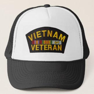 Vietnam-Veteranen-Flecken auf Hut Truckerkappe