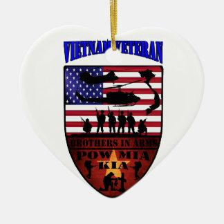 Vietnam Veterans Keramik Ornament