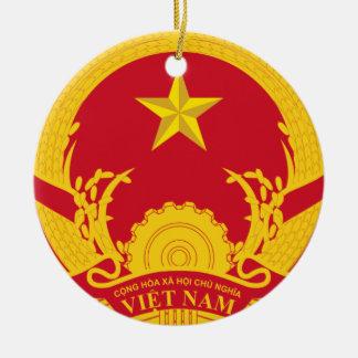 Vietnam* Weihnachtsbaum-Verzierung Keramik Ornament