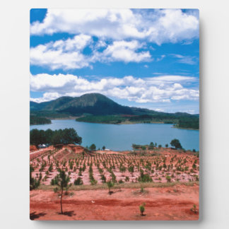 Vietnamese Forest Lake Fotoplatte