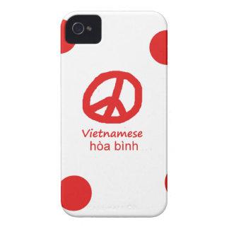 Vietnamesische Sprache und Friedenssymbol-Entwurf Case-Mate iPhone 4 Hülle