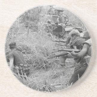Vietnamkrieg Getränkeuntersetzer