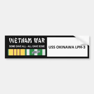 VIETNAMKRIEG-VETERAN USSS OKINAWA AUTOAUFKLEBER