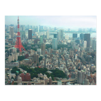 Views of Tokyo Postkarte