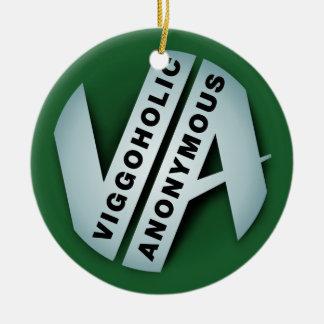 Viggo anonymes Duell-Logo Weihnachtsbaum Ornamente