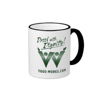 Viggo-Arbeiten, die Fan-Logo wellenartig bewegen Ringer Tasse