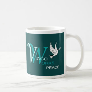 Viggo-Arbeiten Friedenslogo Tasse
