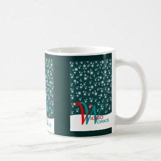 Viggo-Arbeiten Schneeflocke Tasse