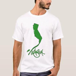 Vikareal Kalifornien (Smaragd) T-Shirt