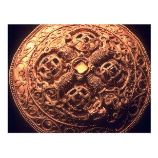 Viking-Broschenjuwel für reiche Leute Postkarte