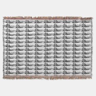Viking, das Runen schnitzt Decke