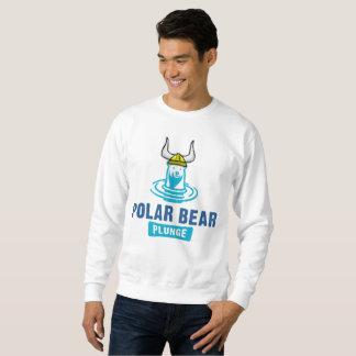 Viking-Eisbär-Kopfsprung für Männer Sweatshirt