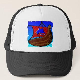 Viking-Galeeren-Schiff   #003 Truckerkappe