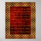 Viking-Gebets-Plakat Poster