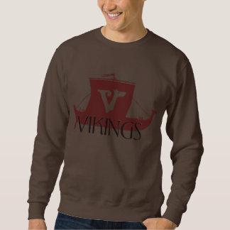 Viking-Kriegsschiff Sweatshirt