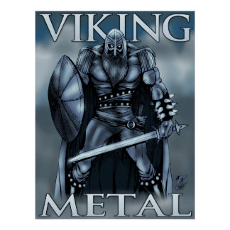 Viking-Metall Poster