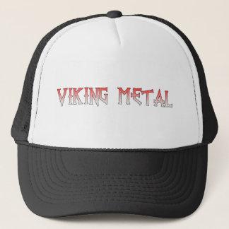 Viking-Metallhut Truckerkappe