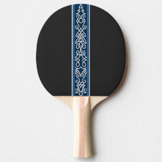 Viking-Muster-Blau Tischtennis Schläger