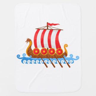 Viking-Schiff Babydecke