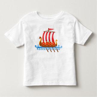 Viking-Schiff Kleinkind T-shirt